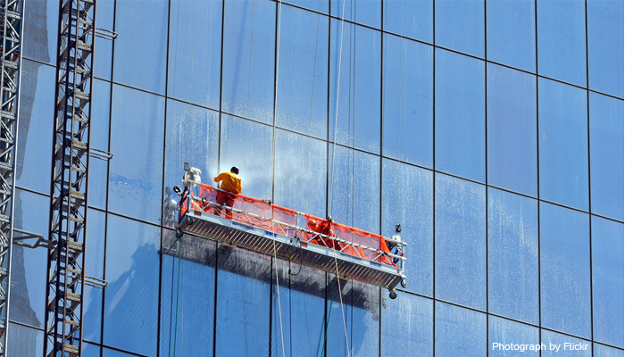 Window washer survived 11 story fall is sued by driver for Window washing